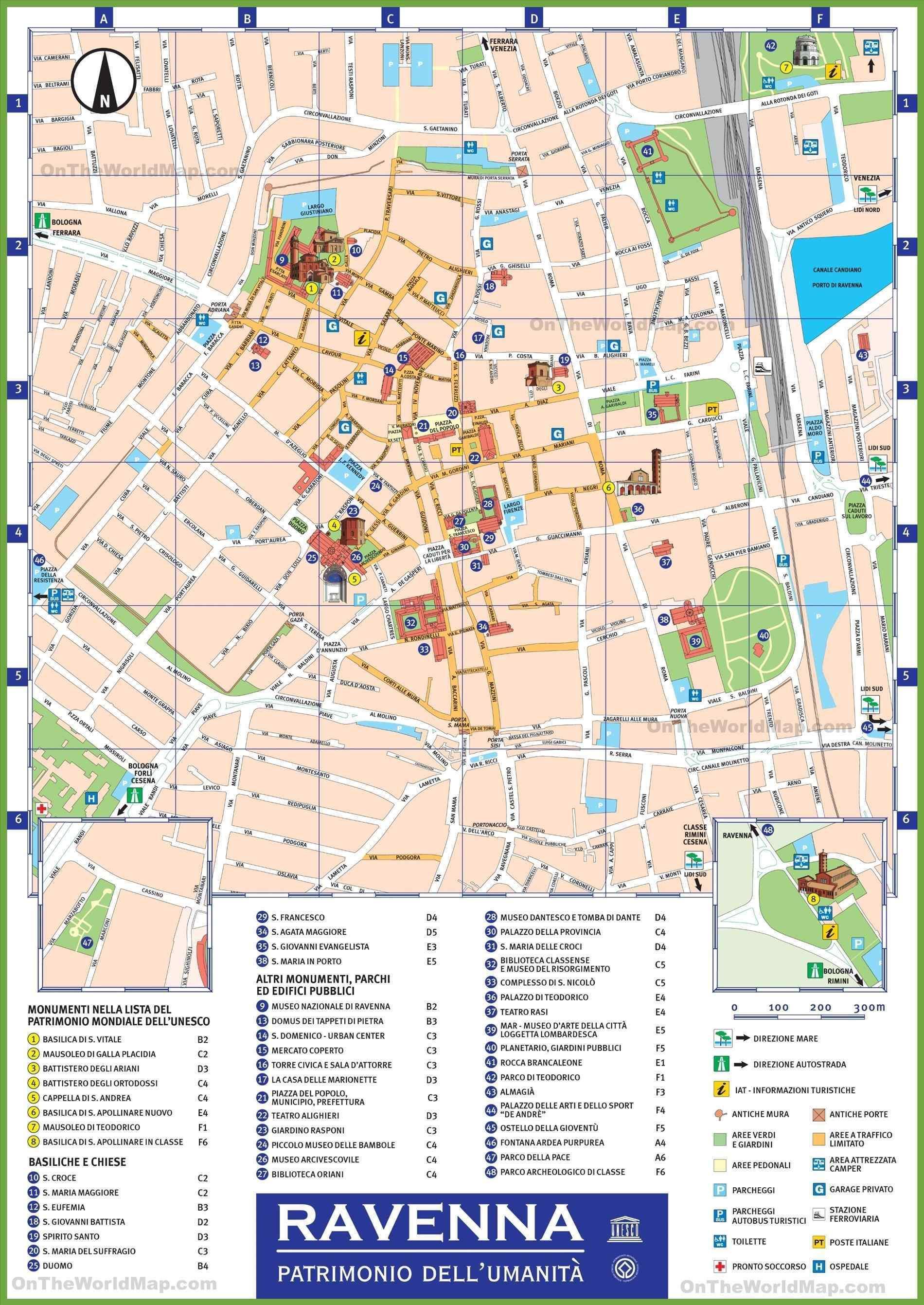 Milanon Nahtavyydet Kartta Milano Italia Nahtavyydet Kartta